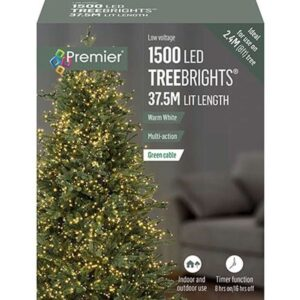 TreeBrights Timer 1500 W/White WAS £54.99 Now £39.99