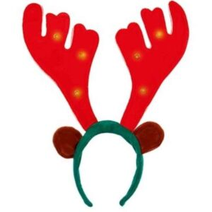 40cm Musical Light-Up Antlers