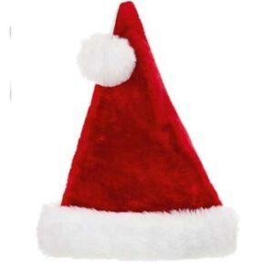 53cm Deluxe Plush Santa Hat