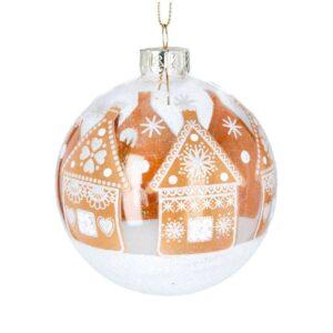 Gingerbread House /Snow Ball