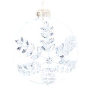 Diamante Snowflake Ball