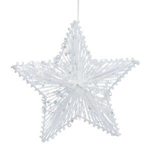 Iridescent 5 Point Star 20cm