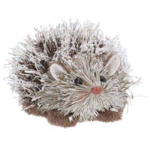 Snowy Bristle Hedgehog 13cm